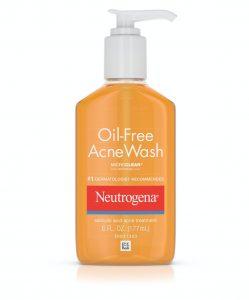 去暗瘡產品推薦-水楊酸-Neutrogena Oil-Free Acne Wash