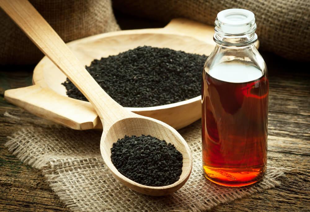 天然去暗瘡食物-去暗瘡印食物-黑籽油