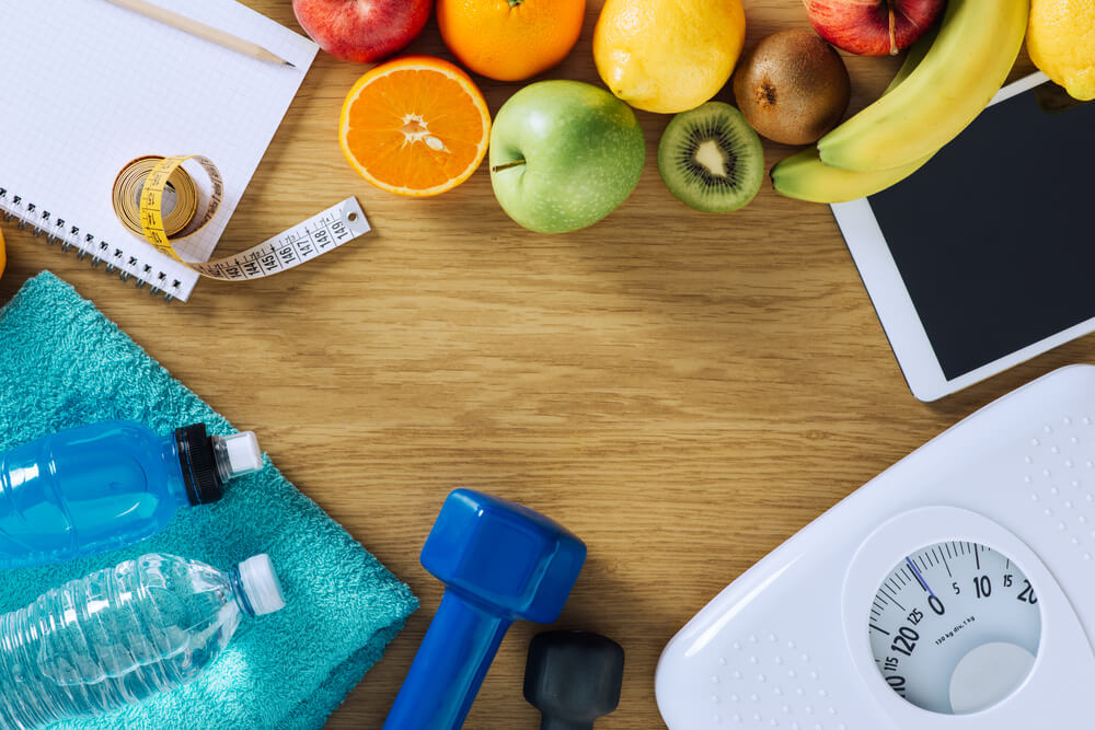 減腹部脂肪方法-跟踪您的食物攝入量