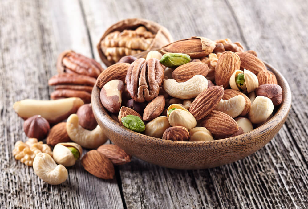 生髮食物-有助頭髮再生的食物-堅果