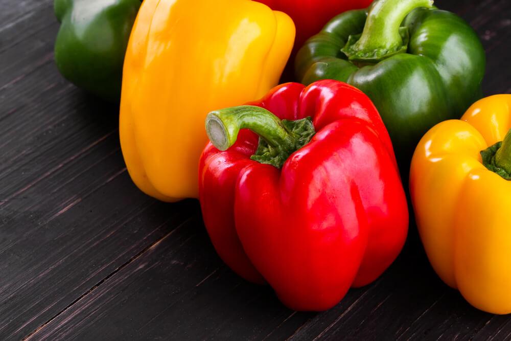 生髮食物-有助頭髮再生的食物-甜椒