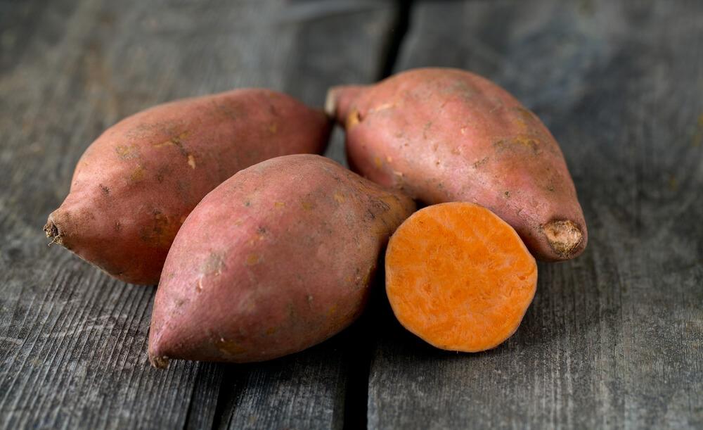 生髮食物-有助頭髮再生的食物-番薯
