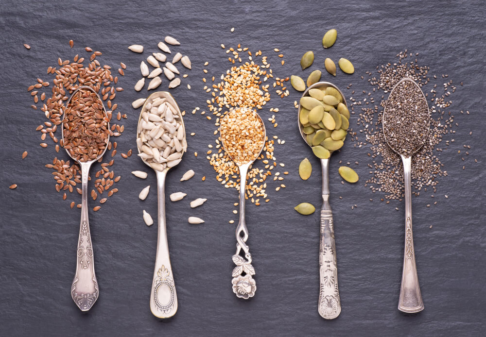生髮食物-有助頭髮再生的食物-籽