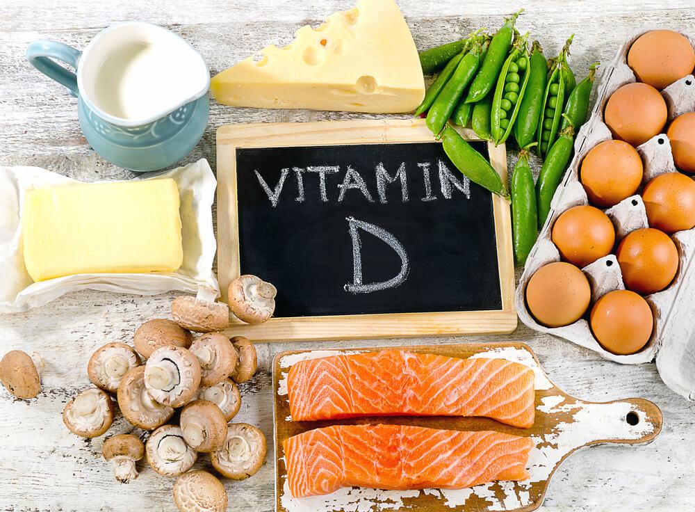 生髮食物-有助頭髮再生的食物-維生素D