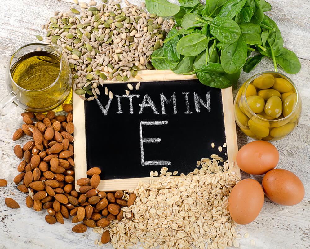 生髮食物-有助頭髮再生的食物-維生素E