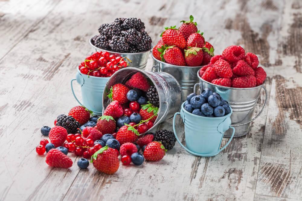 生髮食物-有助頭髮再生的食物-莓果