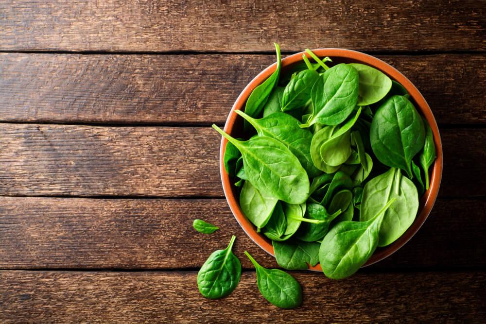 生髮食物-有助頭髮再生的食物-菠菜