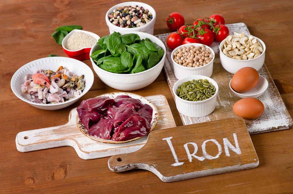 生髮食物-有助頭髮再生的食物-鐵質