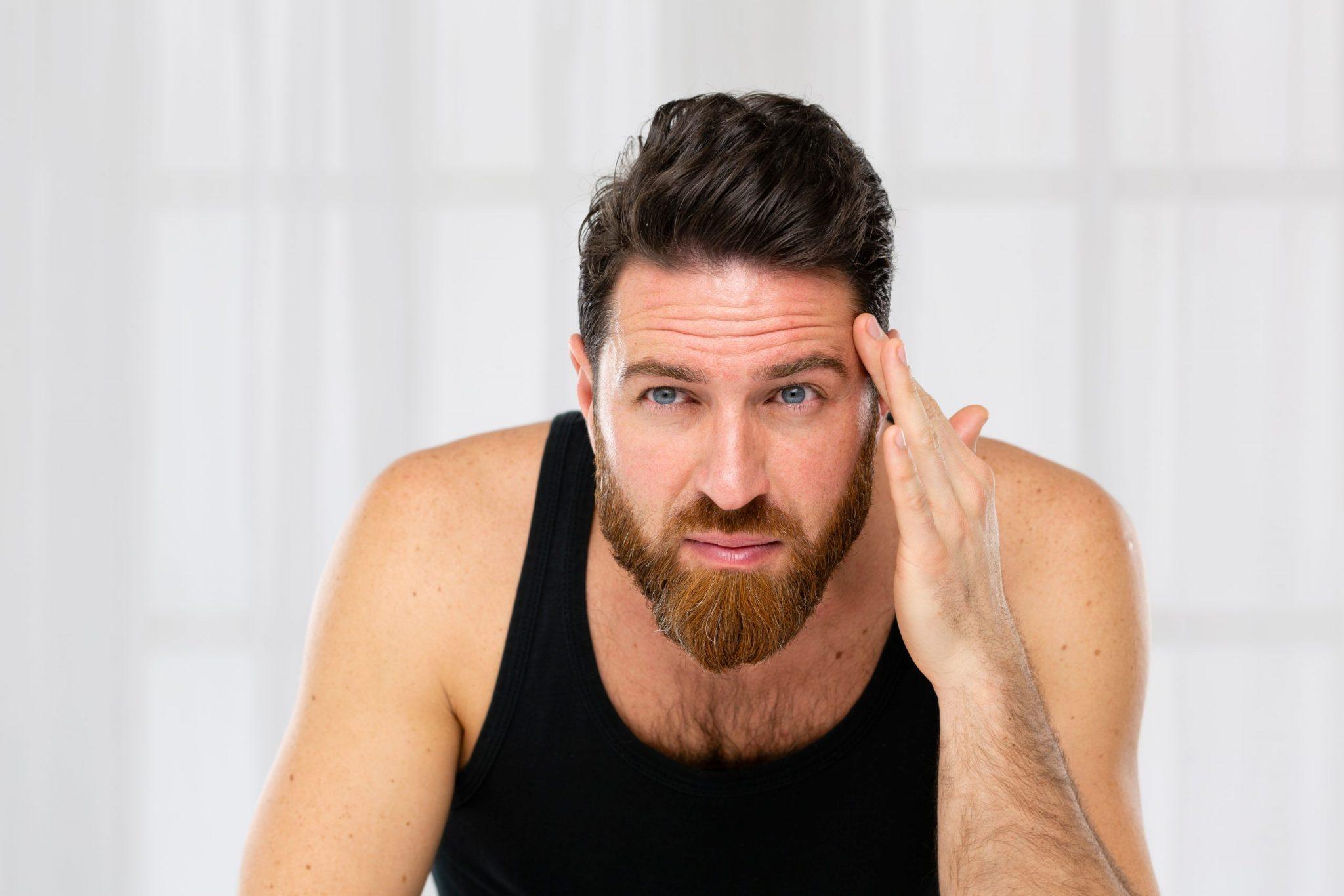 男士皺紋成因+有效去皺方法