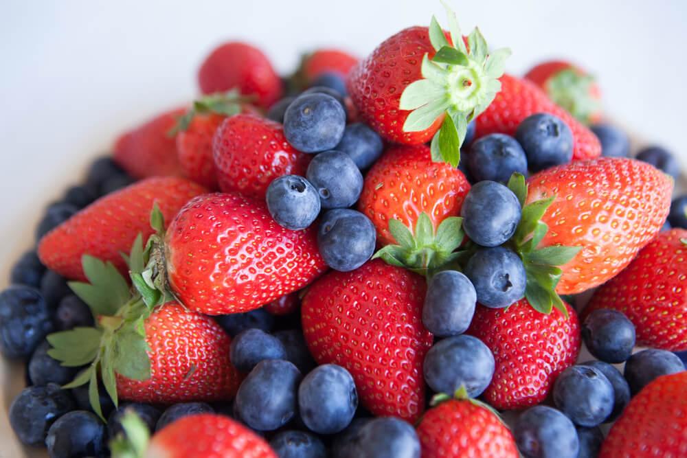 減肥早餐食物-莓果