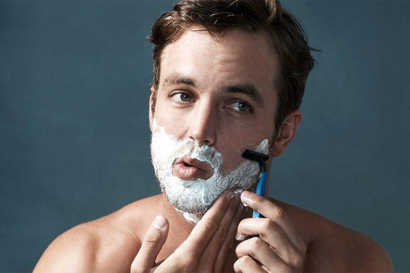 男士脫毛方法-剃刀