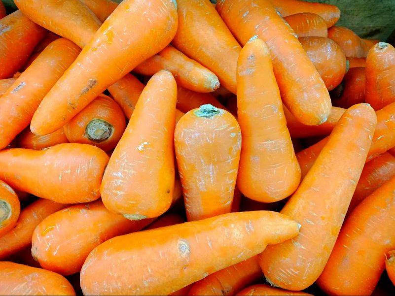 地中海頭髮-含胡蘿蔔素的增髮食物-紅蘿蔔