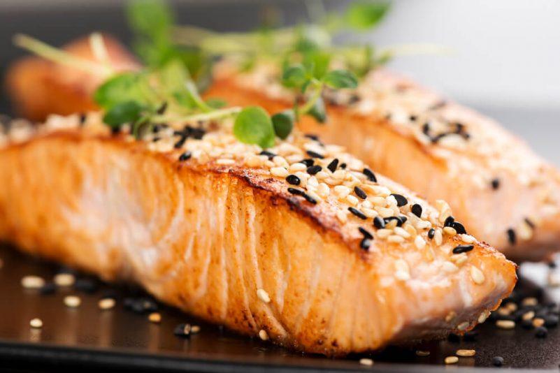 地中海頭髮-含Omega-3的生髮食物-三文魚