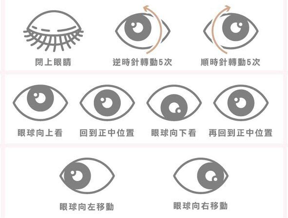 去黑眼圈先消除眼部疲勞!簡單的眼部運動超有效