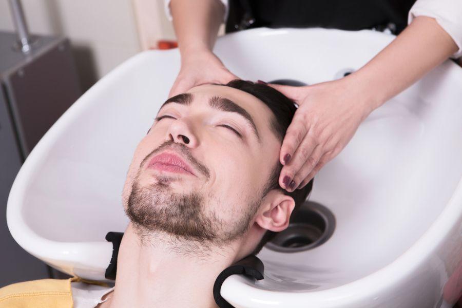 男士頭髮按摩