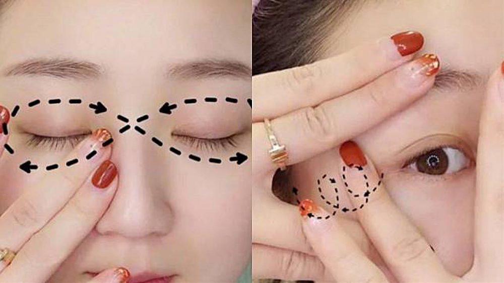 眼紋預防-眼部按摩技巧